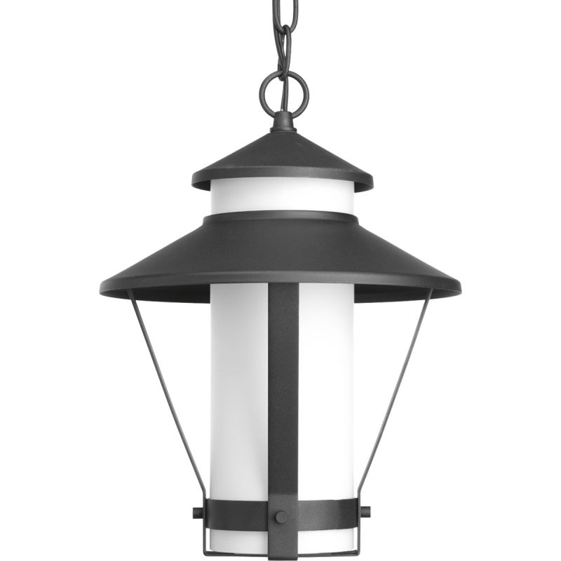 "Progress Lighting P6509 Via 1 Light 9.875""W CFL Lantern Pendant Black"