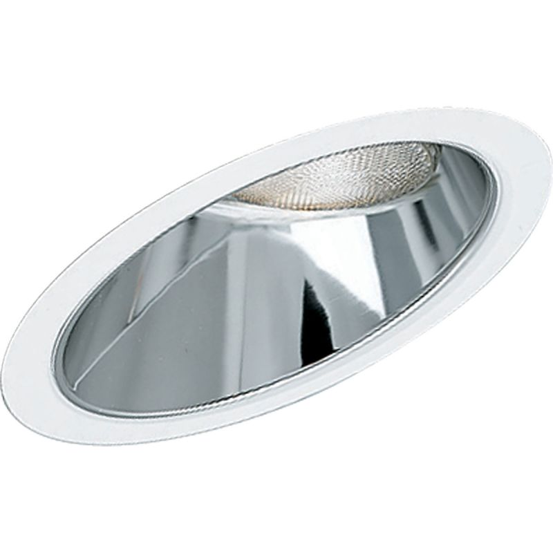 "Progress Lighting P8001 8"" Reflector Trim for Sloped Ceilings and Sale $78.12 ITEM: bci359007 ID#:P8001-21 UPC: 785247800117 :"