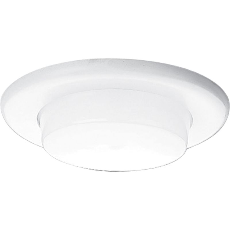 "Progress Lighting P8009 6"" Shower Trim with Opal Glass for A19 or"
