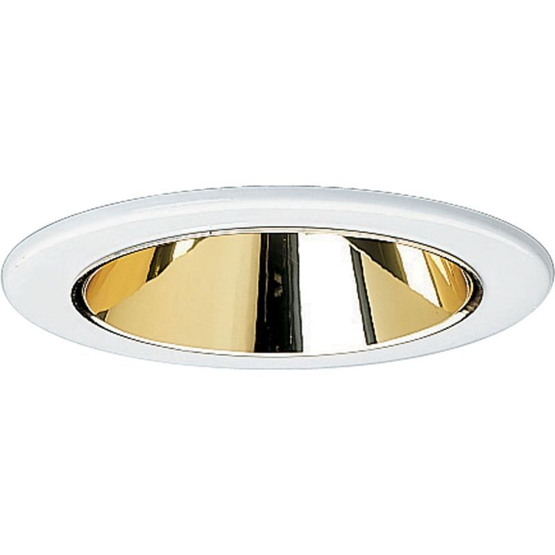 "Progress Lighting P8043 4"" Cone Reflector Trim for PAR16 PAR20 or"