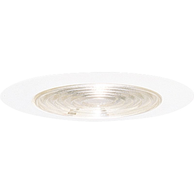 "Progress Lighting P8062 6"" Shower Trim with Fresnel Glass for A19 or"