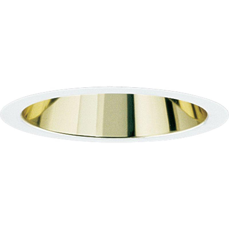 "Progress Lighting P8068 6"" Cone Reflector Trim for PAR30 PAR38 BR30"