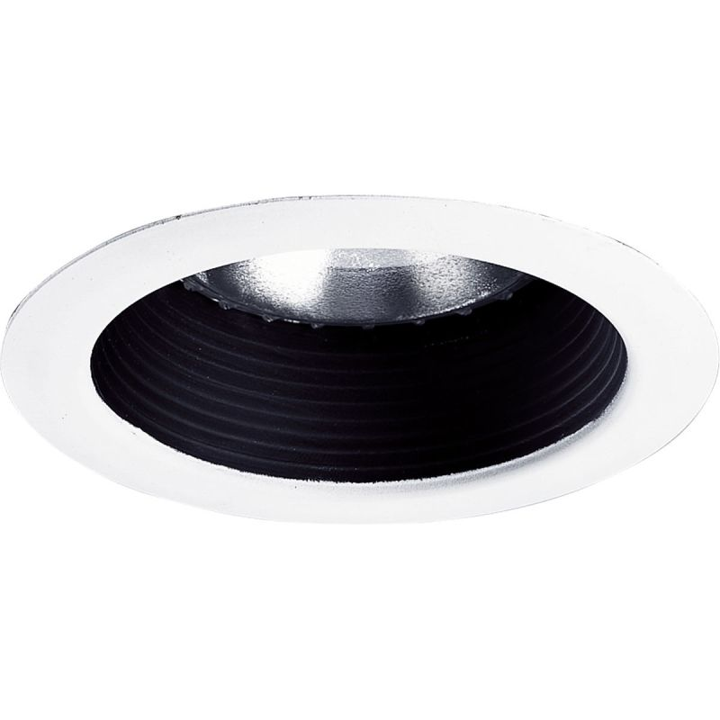 "Progress Lighting P8375 5"" Shallow Baffle Trim for PAR30 or BR30 Lamps"