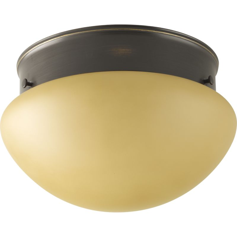 "Progress Lighting P3408T Fitter Series 7-1/2"" Wide Single-Light Flush"