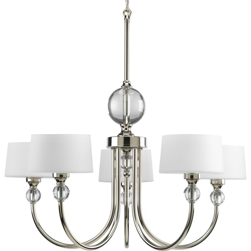Progress Lighting P4674 Fortune Five-Light Single-Tier Chandelier with Sale $574.60 ITEM: bci1886323 ID#:P4674-104 UPC: 785247168811 :