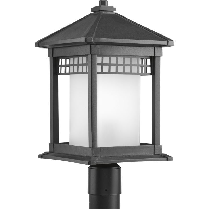 Progress Lighting P6400 Merit Single-Light Aluminum Post Lantern with