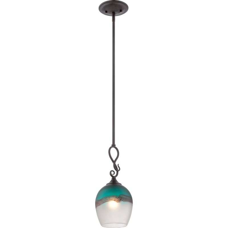 Quoizel AR1903 Salamander 1 Light Pendant Imperial Bronze Indoor