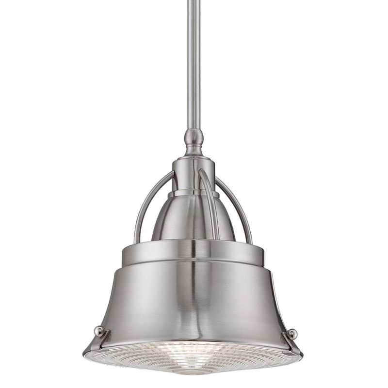 Quoizel CDY1508BN Brushed Nickel Industrial Cody Pendant