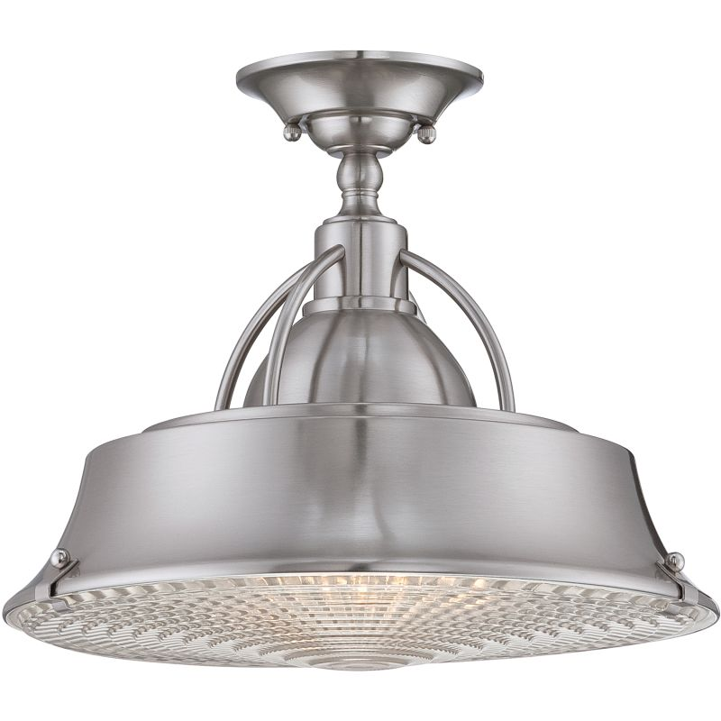 Quoizel CDY1714BN Brushed Nickel Industrial Cody Ceiling Light