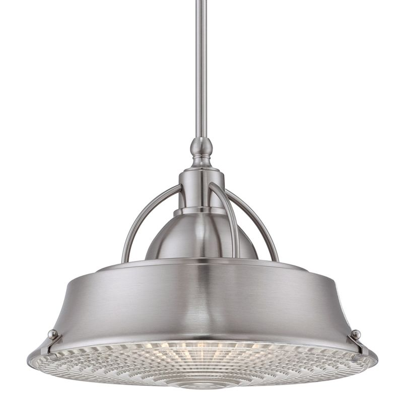 Quoizel CDY2814BN Brushed Nickel Industrial Cody Pendant