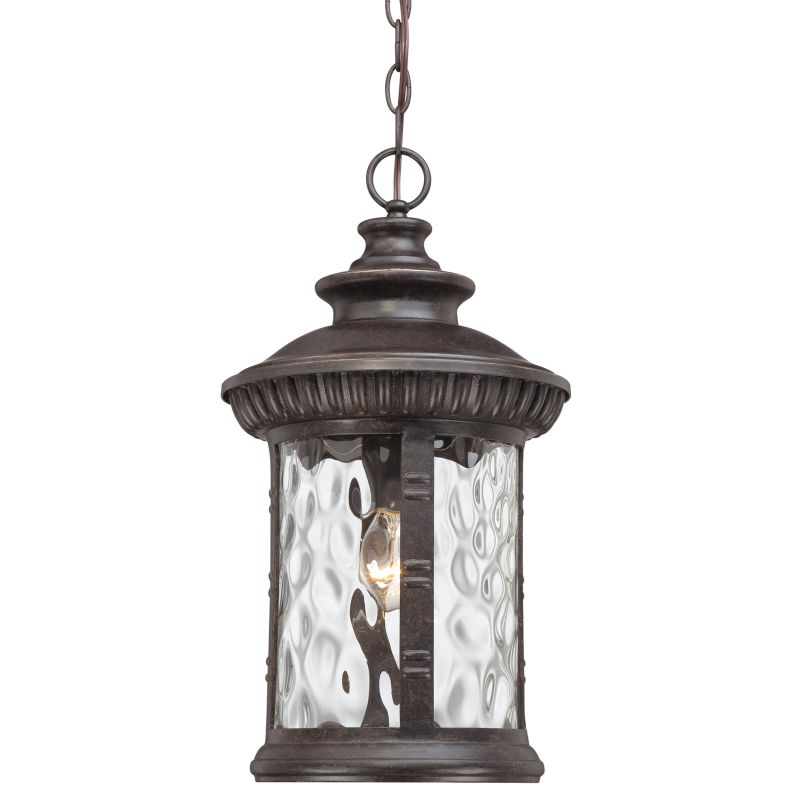 "Quoizel CHI1911 Chimera 1 Light 11"" Wide Outdoor Pendant Lantern with"