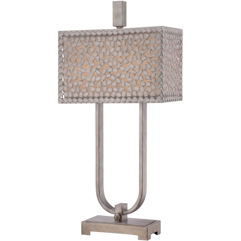 "Quoizel CKCF6330 Confetti 2 Light 30"" Tall Table Lamp with Metal"