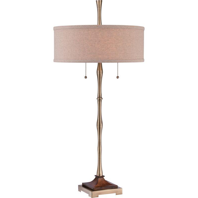 Quoizel CKHM1879T Hickman 2 Light Buffet Lamps Antique Bronze Lamps