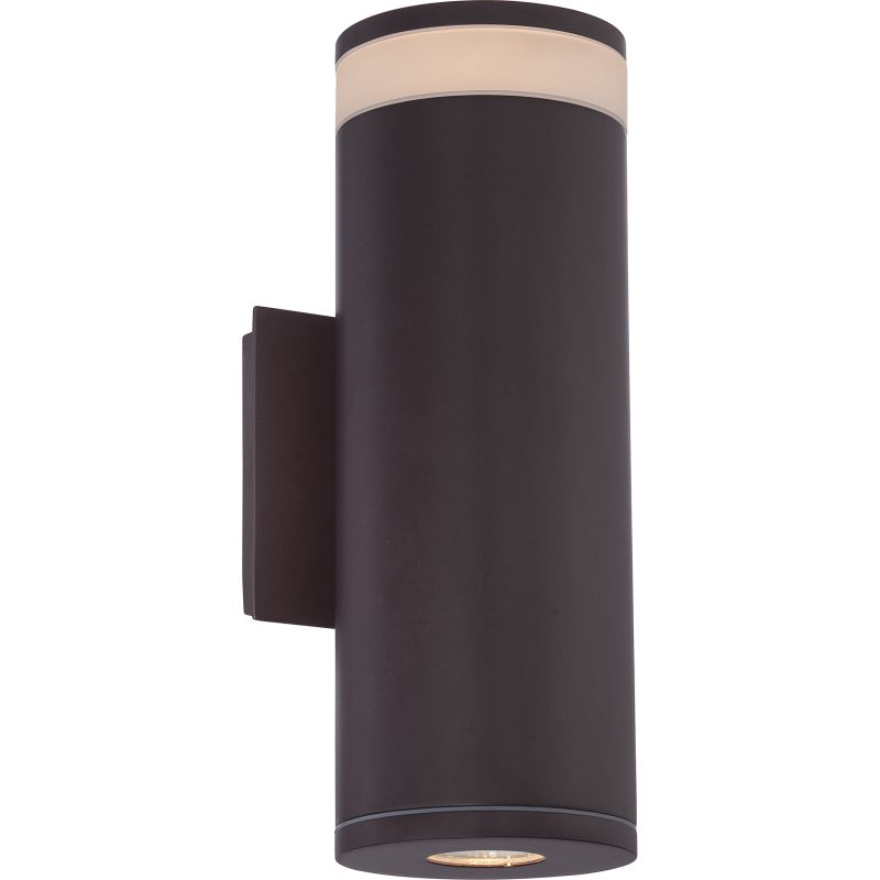 Quoizel COE8405 Cole 1 Light LED Outdoor Wall Sconce Western Bronze