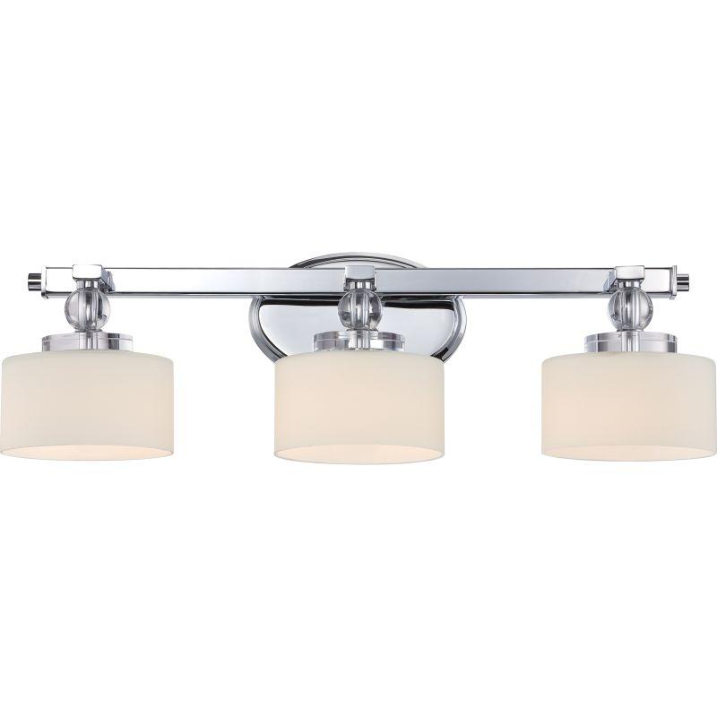 "Quoizel DW8603 Downtown 3 Light 25"" Wide Reversible Halogen Bathroom"