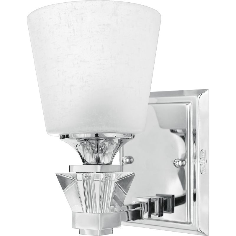 "Quoizel DX8601 Deluxe 1 Light 6"" Wide Reversible Bathroom Sconce with"