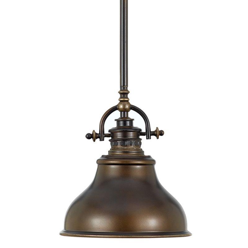 Quoizel ER1508PN Palladian Bronze Industrial Emery Pendant