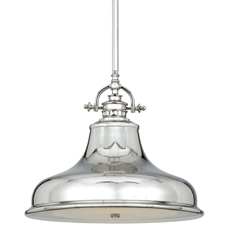 Quoizel ER1814IS Imperial Silver Industrial Emery Pendant