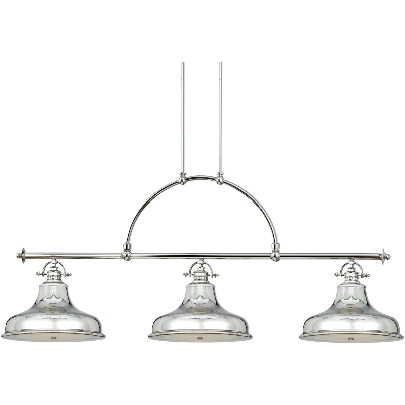 Quoizel ER353IS Imperial Silver Industrial Emery Chandelier