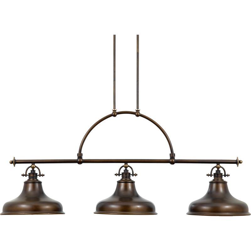 Quoizel ER353PN Palladian Bronze Industrial Emery Chandelier