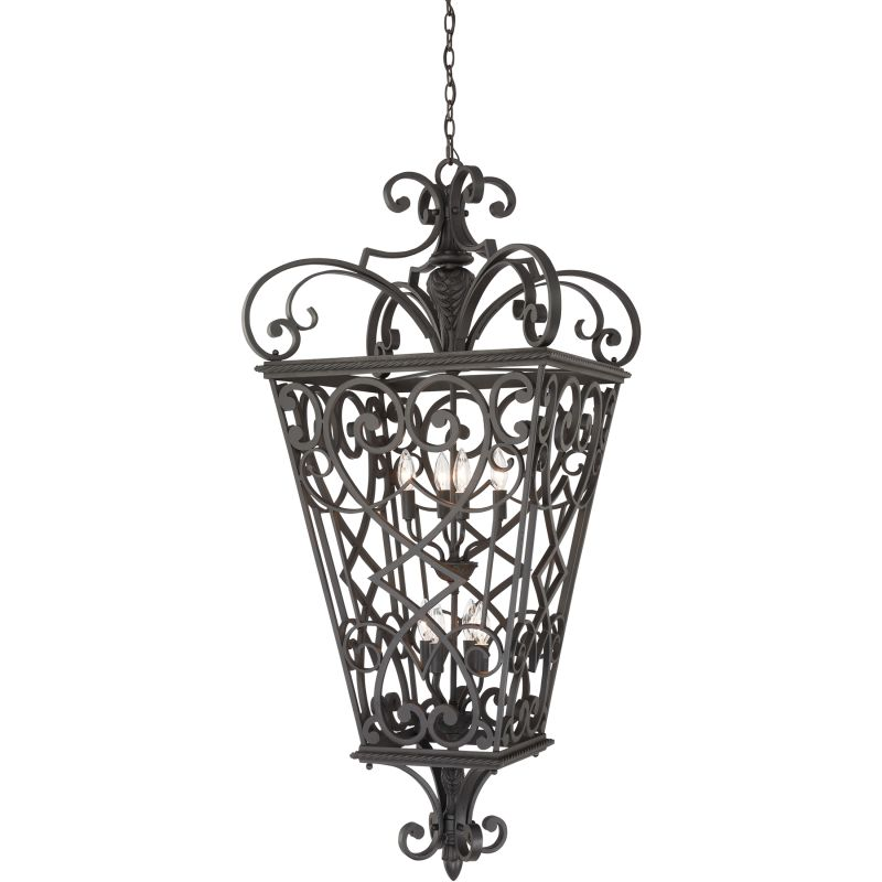"Quoizel FQ1931 Fort Quinn 8 Light 31"" Wide Outdoor Pendant Marcado Sale $1089.99 ITEM: bci1386375 ID#:FQ1931MK01 UPC: 611728159583 :"