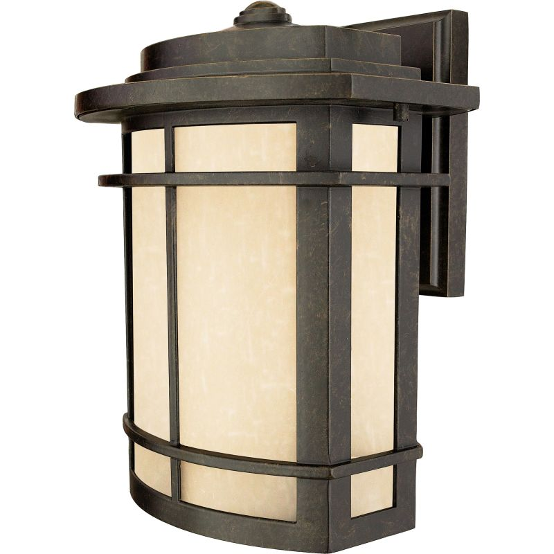 "Quoizel GLN8410 Galen 1 Light 12"" Tall Outdoor Wall Sconce with Umber"