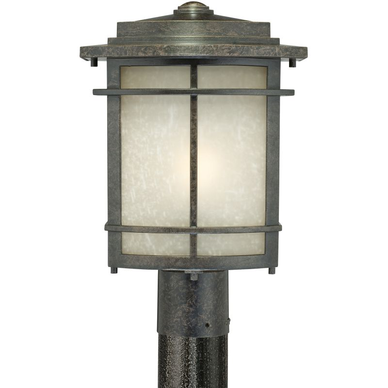 Quoizel GLN9010FL Galen 1 Light Title 24 Compliant Outdoor Post Light