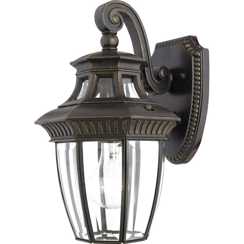 "Quoizel GT8980 Georgetown 1 Light 13"" Tall Outdoor Wall Sconce with"