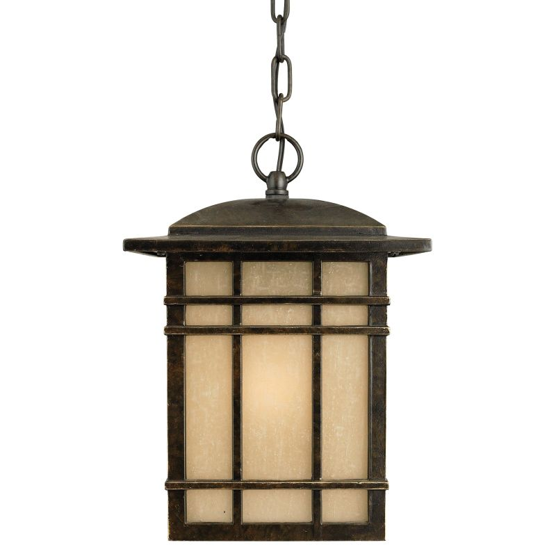 "Quoizel HC1909 Hillcrest 1 Light 9"" Wide Outdoor Pendant Lantern with"