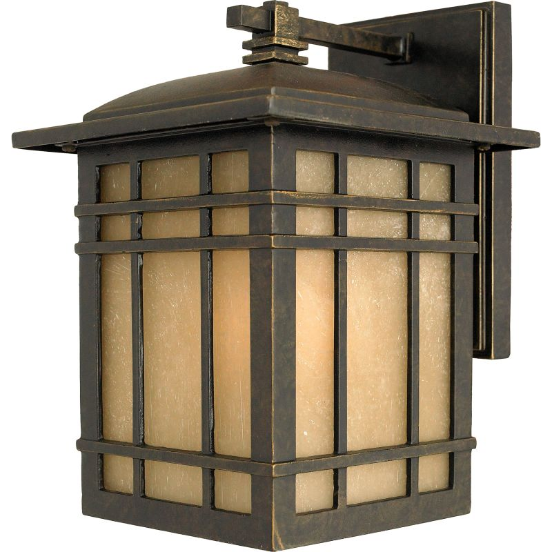 "Quoizel HC8407FL Hillcrest 1 Light 10"" Tall CFL Outdoor Wall Sconce"