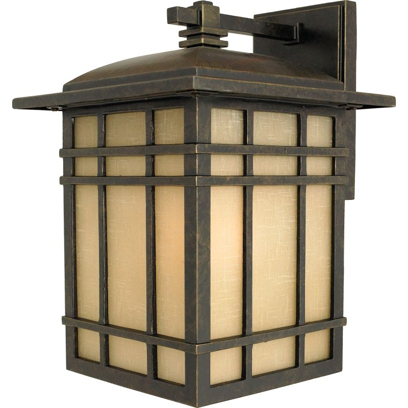 "Quoizel HC8409FL Hillcrest 1 Light 13"" Tall CFL Outdoor Wall Sconce"