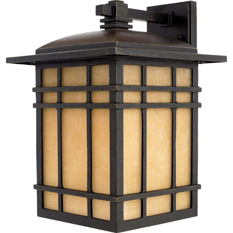 "Quoizel HC8411FL Hillcrest 1 Light 16"" Tall CFL Outdoor Wall Sconce"