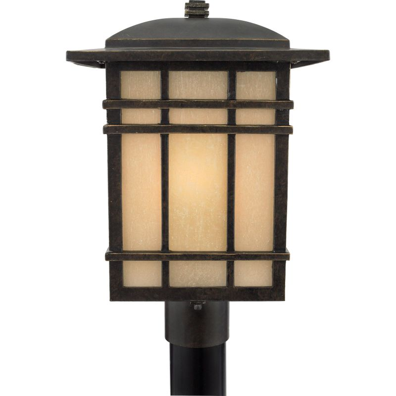Quoizel HC9011FL Hillcrest 1 Light Title 24 Compliant Outdoor Post