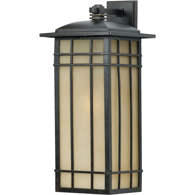 "Quoizel HCE8411FL Hillcrest 1 Light 25"" Tall CFL Outdoor Wall Sconce"