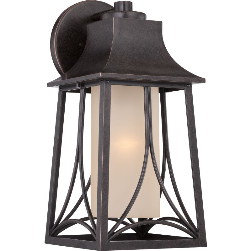Quoizel HTR8408 Hunter 1 Light Outdoor Wall Sconce Imperial Bronze