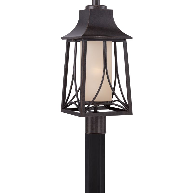 Quoizel HTR9008FL Hunter 1 Light Title 24 Compliant Outdoor Post Light