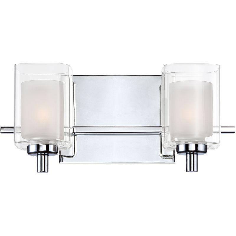 Quoizel KLT8602C Polished Chrome Contemporary Kolt Bathroom Light