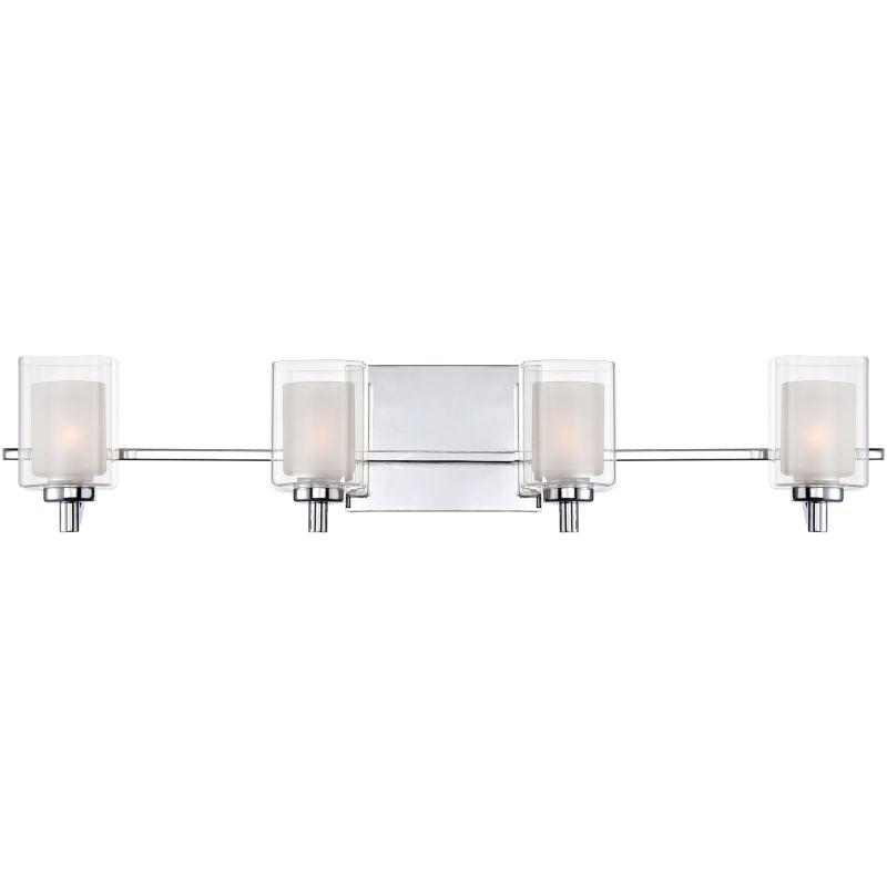 Quoizel KLT8604C Polished Chrome Contemporary Kolt Bathroom Light