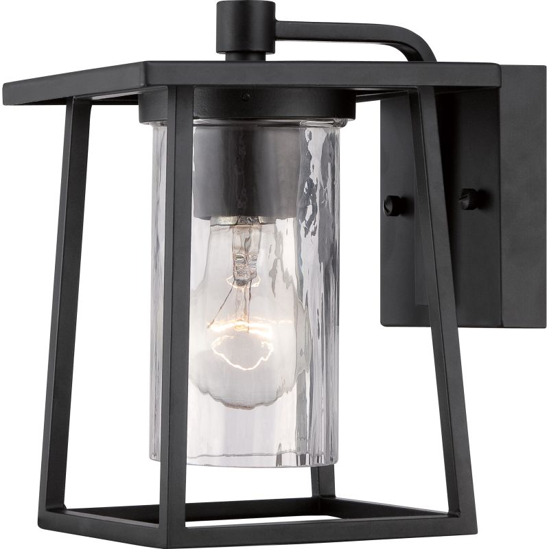"Quoizel LDG8406 Lodge 1 Light 9"" Tall Outdoor Wall Sconce with"
