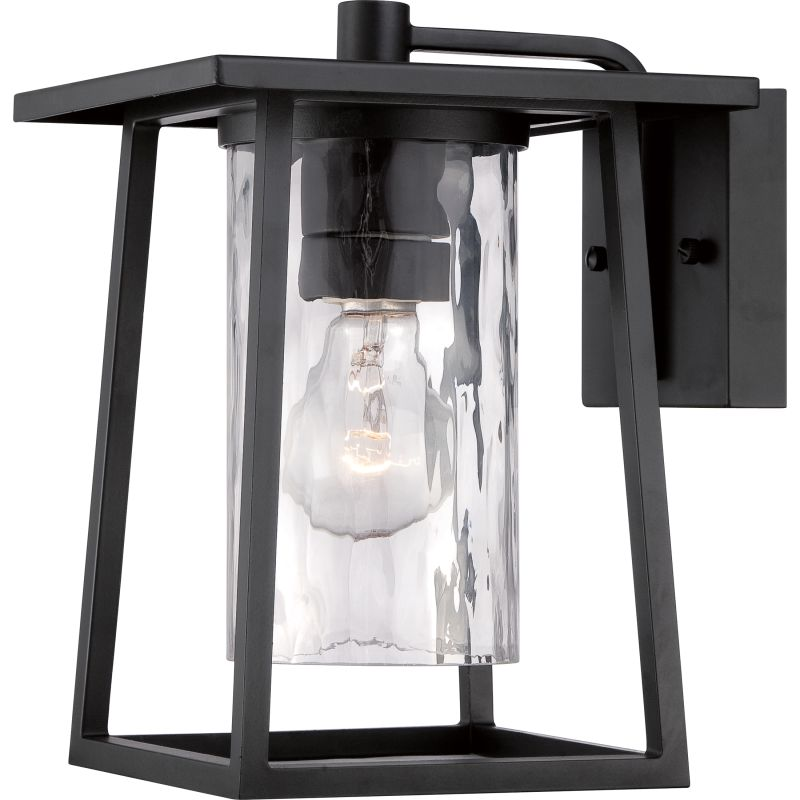 "Quoizel LDG8408 Lodge 1 Light 11"" Tall Outdoor Wall Sconce with"