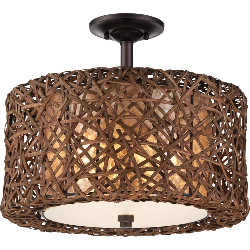 Quoizel Mcrm1716pn Palladian Bronze Ruckman 3 Light 16