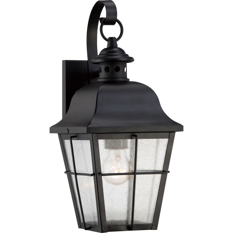 """Quoizel MHE8406FL Millhouse 1 Light 16"""" Tall Outdoor Wall Sconce with"""