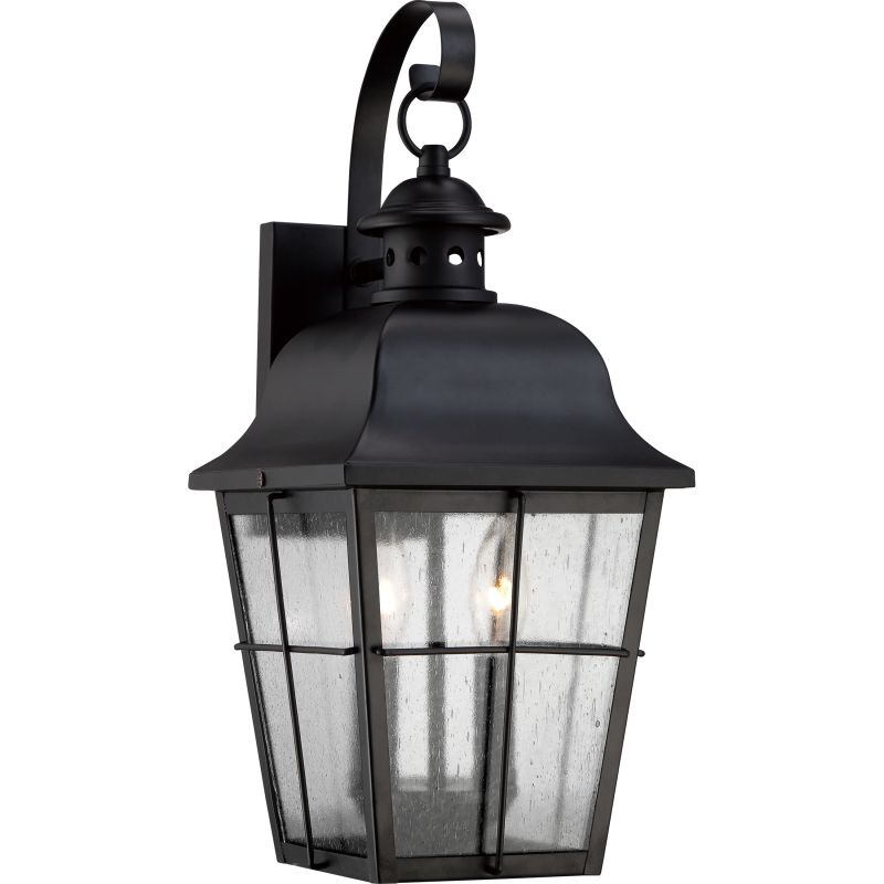 "Quoizel MHE8409 Millhouse 2 Light 19"" Tall Outdoor Wall Sconce with"
