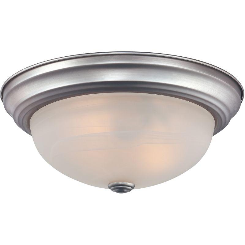 "Quoizel MNR1613 Manor 2 Light 13"" Wide Flush Mount Ceiling Fixture"