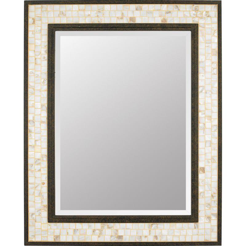"Quoizel MY430241 Monterey Mosaic 30"" x 24"" Rectangular Decorative"