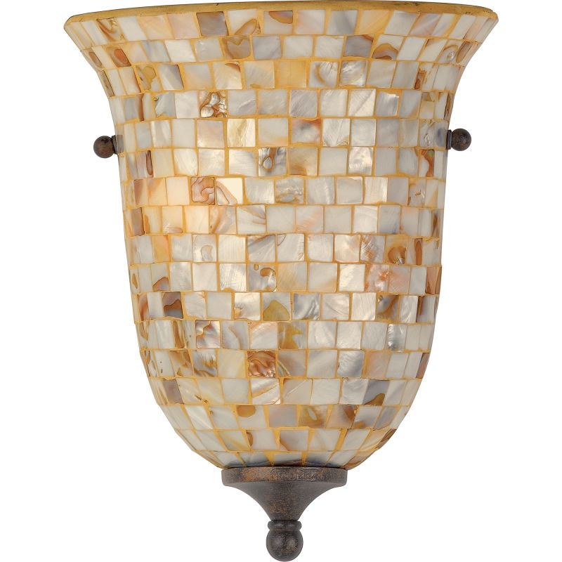"Quoizel MY8801 Monterey Mosaic 2 Light 12"" Tall Wall Washer with Pen"