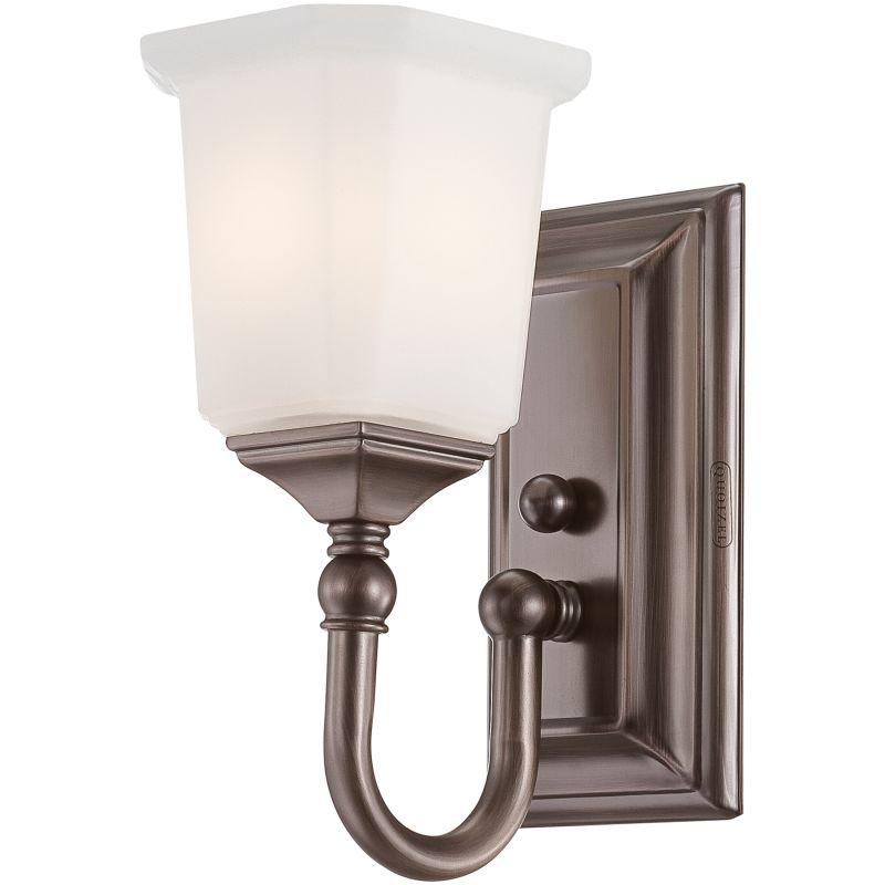 """Quoizel NL8601 Nicholas 1 Light 5"""" Wide Reversible Bathroom Sconce"""