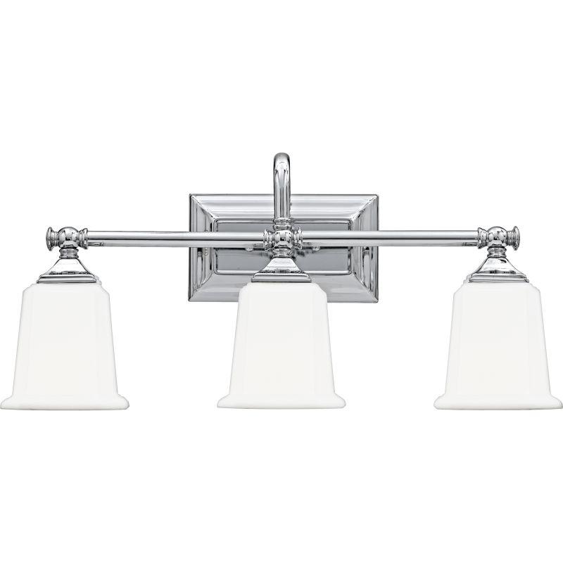 "Quoizel NL8603 Nicholas 3 Light 22"" Wide Reversible Bathroom Vanity"