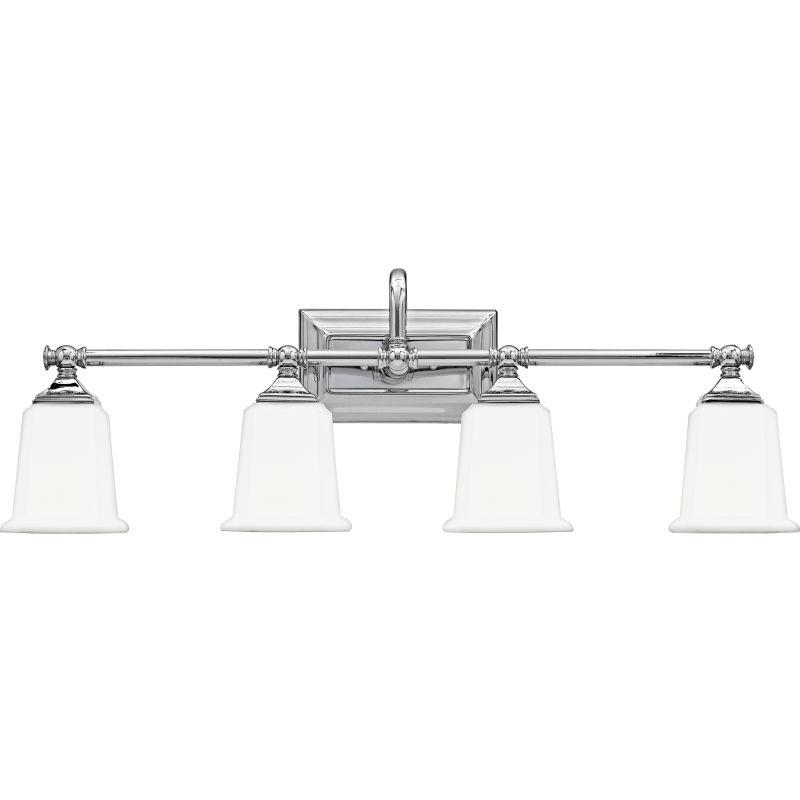 "Quoizel NL8604 Nicholas 4 Light 31"" Wide Reversible Bathroom Vanity"
