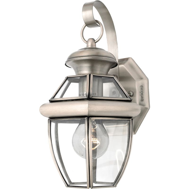 Quoizel NY8315 Newbury 1 Light 13&quote Tall Outdoor Wall Sconce with Clear